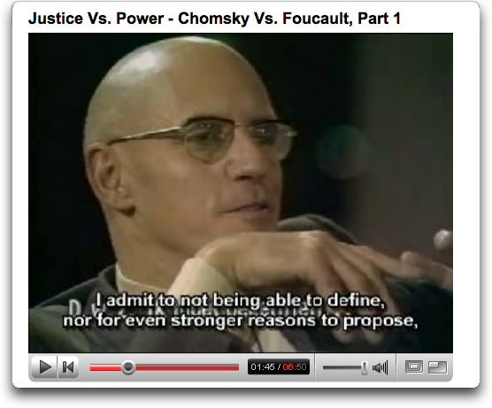 Foucault on Youtube