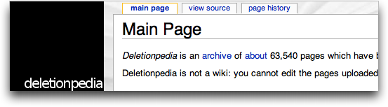 deletionpedia
