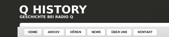 q history - geschichte bei radio q