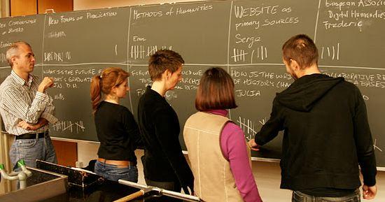 THATcamp: Entscheidungsfindung an der Wandtafel